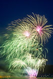 British Firework Championships Royalty Free Stock Photography