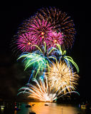 British Firework Championships Royalty Free Stock Photos