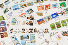 British First Day Covers Stock Photography