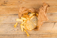 British fish and chips Stock Photos