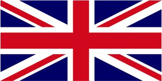 British Flag. Illustration of the British Flag (not a Stock Image