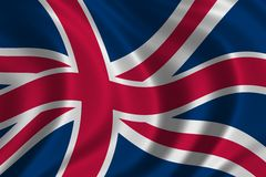British Flag. Flag of Great Britain - high resolution detail of the british flag