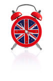 British flag alarm clock Royalty Free Stock Photos