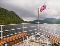 British Flag on Boat Royalty Free Stock Photos