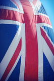 British Flag close up Stock Images