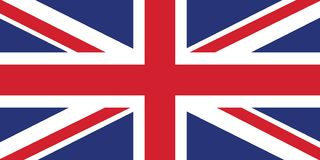 Free British Flag High Resolution Vector Royalty Free Stock Images - 160089329