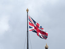 British Flag, Houses of Parliament Royalty Free Stock Photos