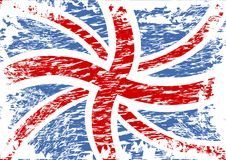 British Flag In Wind Royalty Free Stock Image