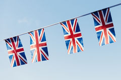 British Flag National Sign Concept Stock Images