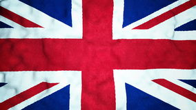 British Flag Seamless Video Loop stock video footage