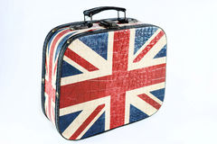 The British flag on a suitcase Royalty Free Stock Photography