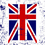 British flag t shirt typography graphic Stock Images