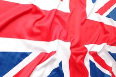 British flag, Union Jack Royalty Free Stock Image