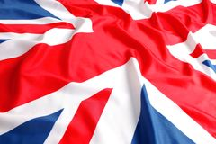 British flag, Union Jack Royalty Free Stock Photo