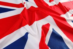 British flag, Union Jack Stock Photos