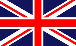 British flag. British vector background, original and simple United Kingdom / England flag isolated vector in official colors and Proportion Correctly