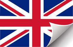 British flag vectors illustration Stock Photography