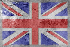 British flag wall texture stock images