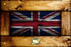 British flag. Royalty Free Stock Photos