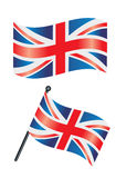 british flaga ilustracja wektor