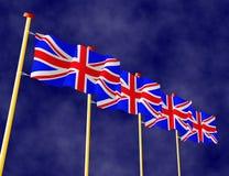 British Flags Stock Photos