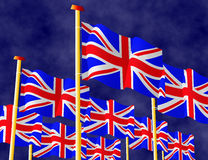 British Flags Royalty Free Stock Images