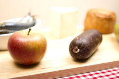 British foods Cox apple Royalty Free Stock Photos