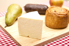 British foods wensleydale chees Stock Image