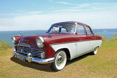British ford zodiac classic car Stock Image
