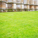 british     in  grass london england old  construction and relig Royalty Free Stock Photo