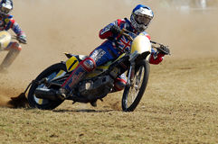 British grasstrack racer Royalty Free Stock Images