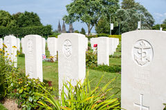 British grave of an unknown sailor from World War II. royalty free stock photo