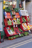 British Green Grocers Display Royalty Free Stock Images