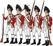 British Grenadiers Royalty Free Stock Photography