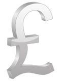 british grey funta symbol ilustracji