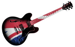 British Guitar Royalty Free Stock Photo
