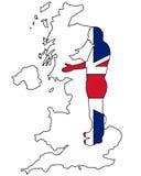British handshake Stock Images