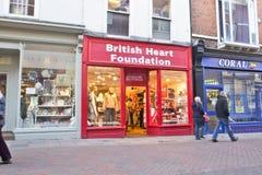 British Heart Foundation Royalty Free Stock Photo