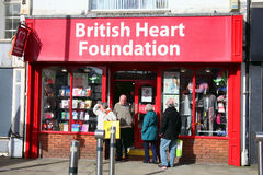 British Heart Foundation retail shop