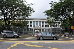 British High Commission in Kuala Lumpur stock photos