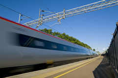 British High Speed Train Royalty Free Stock Photography