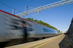 British High Speed Train Stock Photography