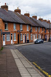 British houses. Terraced houses. typical British urban development Royalty Free Stock Photos