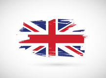 British ink flag illustration design Stock Image
