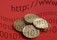 British internet banking Stock Images