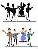 British invasion from the sixties royalty free stock photo