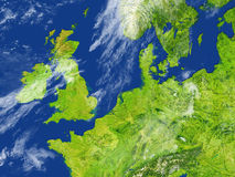 British Islands on planet Earth Royalty Free Stock Photo