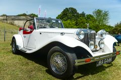 British JBA Falcon car. Image was taken on 27 May 2013 in Crystal Palace Race, London UK Stock Photo