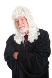 British Judge - Skeptical Stock Image