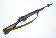 British Jungle Carbine Lee Enfield No.5 rifle Royalty Free Stock Photos
